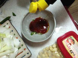 Preparing Cuttlefish Sauce