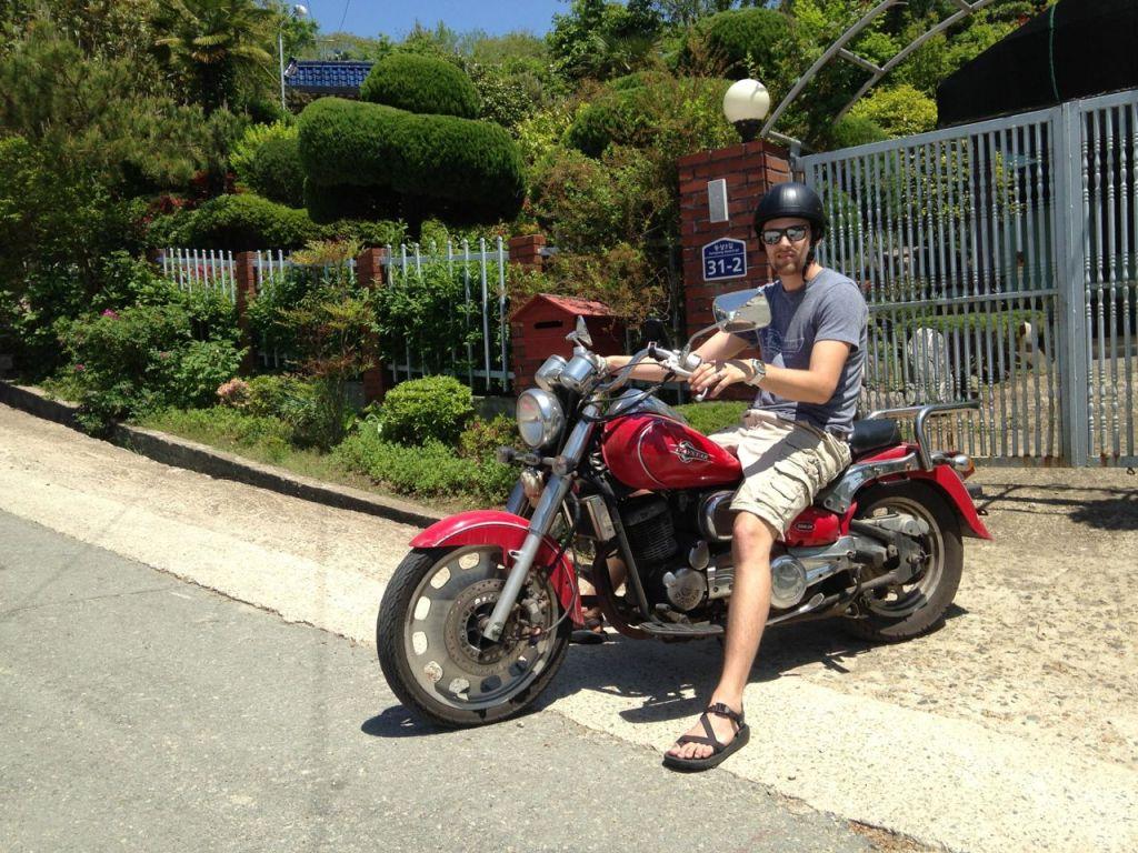 Geoje South Korea Motorcycle