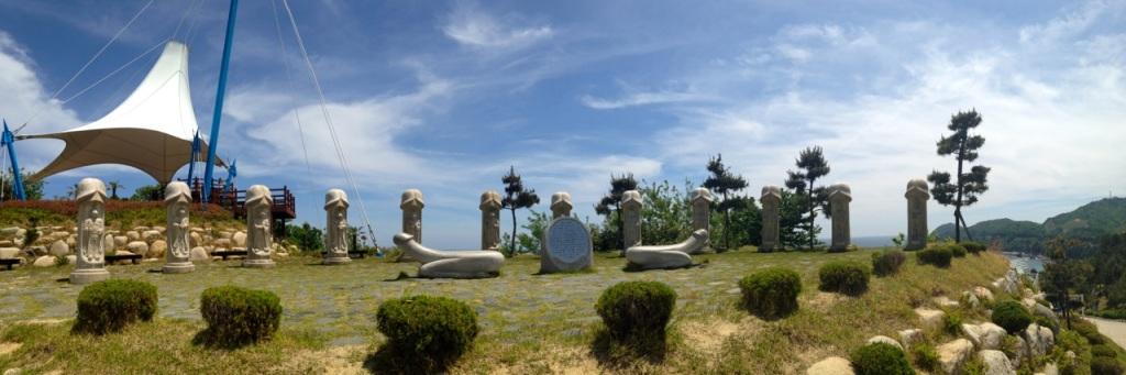 Haesindang Park (Penis Park) South Korea