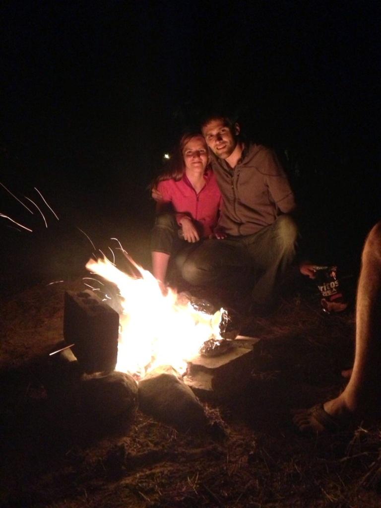 Campfire in Korea