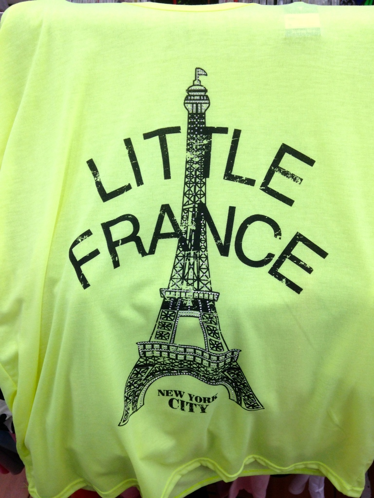 Korean T-Shirt: Little France New York City