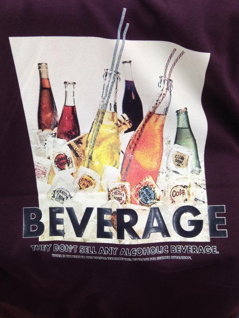 Korean T-Shirt: Beverage