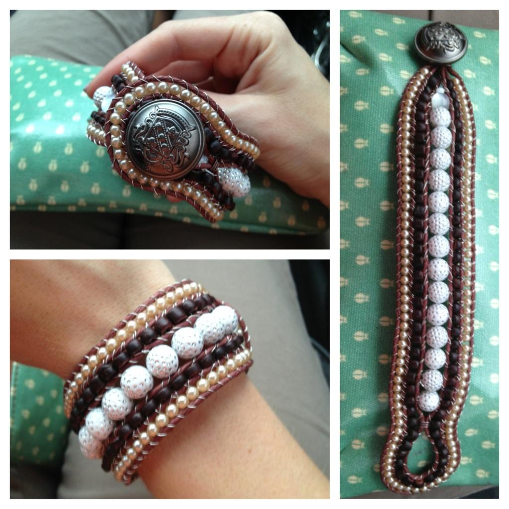 Road Trip Bracelet DIY
