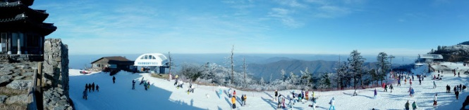 Muju Ski Summit 2