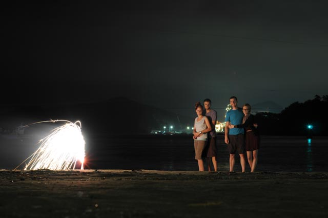 Firework Photo Shoot 4th of July in Korea