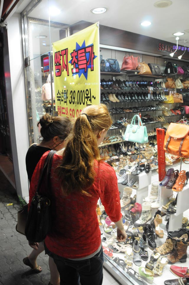 Shopping in Geoje at Night
