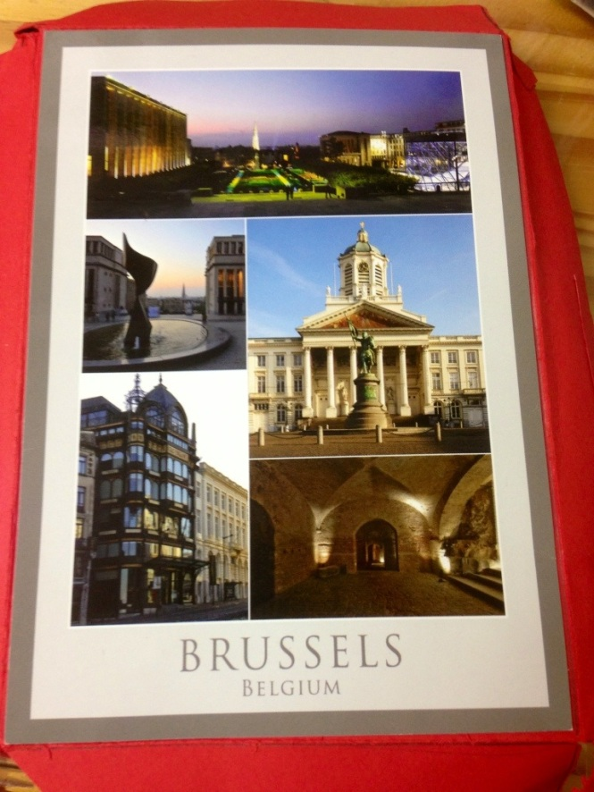 Belgium Post Card