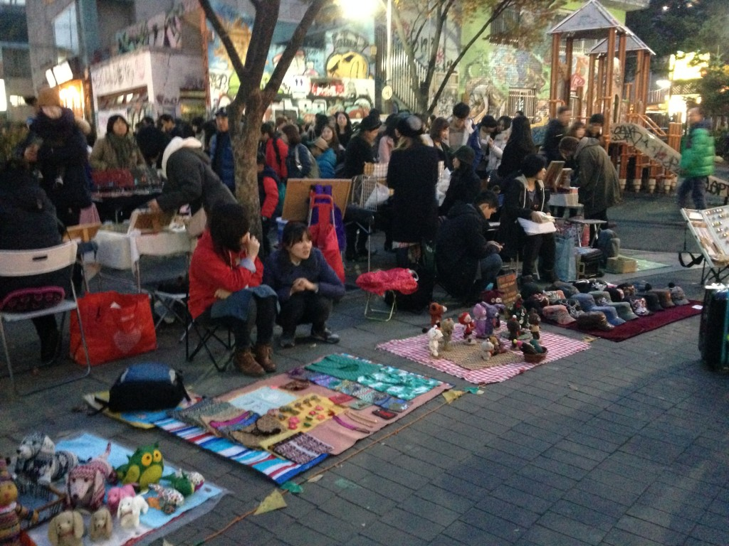 Hongae Craft Market Seoul