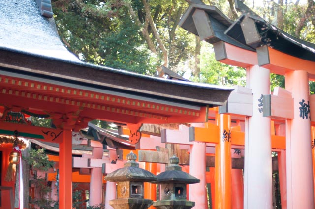 Kyoto, Fushimi Inari Shrine, Japan