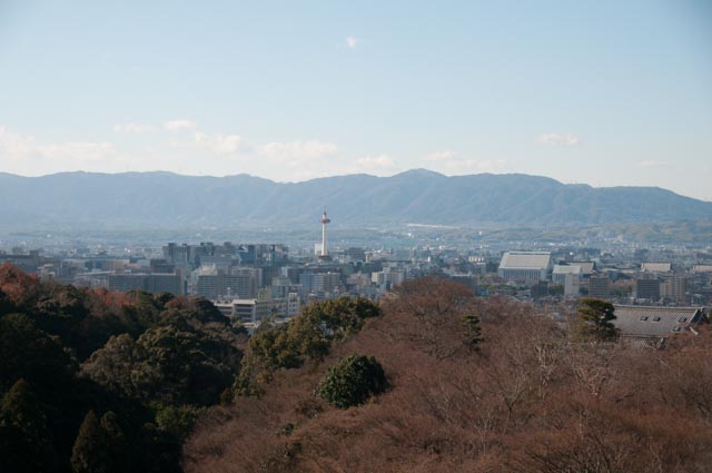 View of Kyoto, Japan