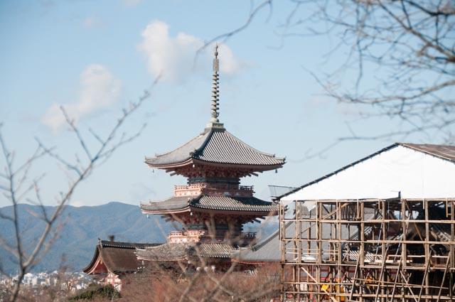 Kyoto, Kiyomizu-dera, Japan