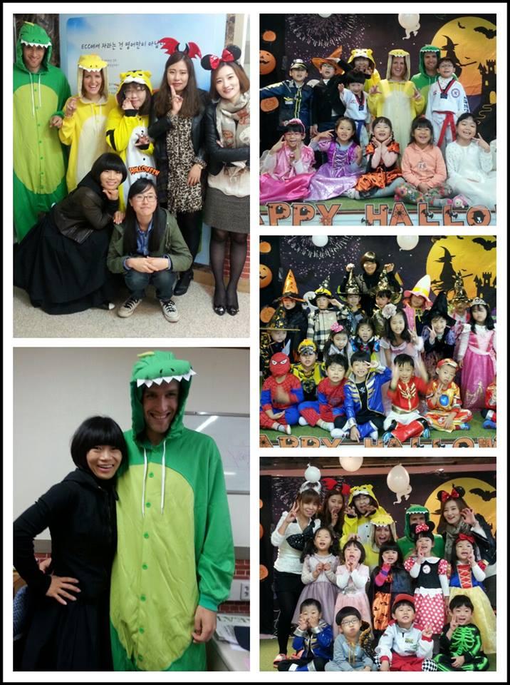 Halloween in Korea at ECC