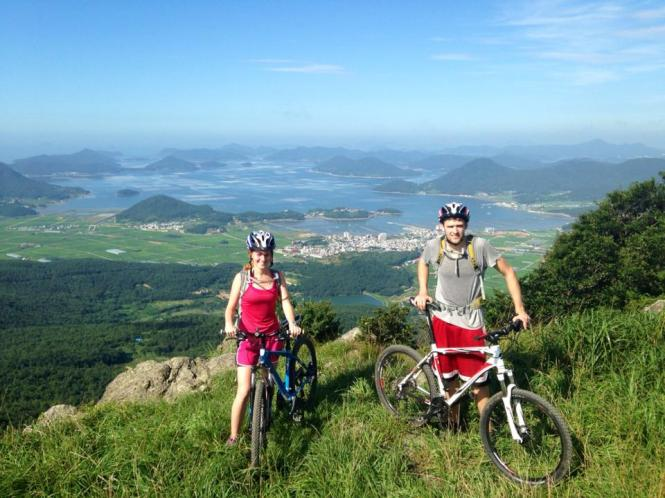 Mountain biking in South Korea