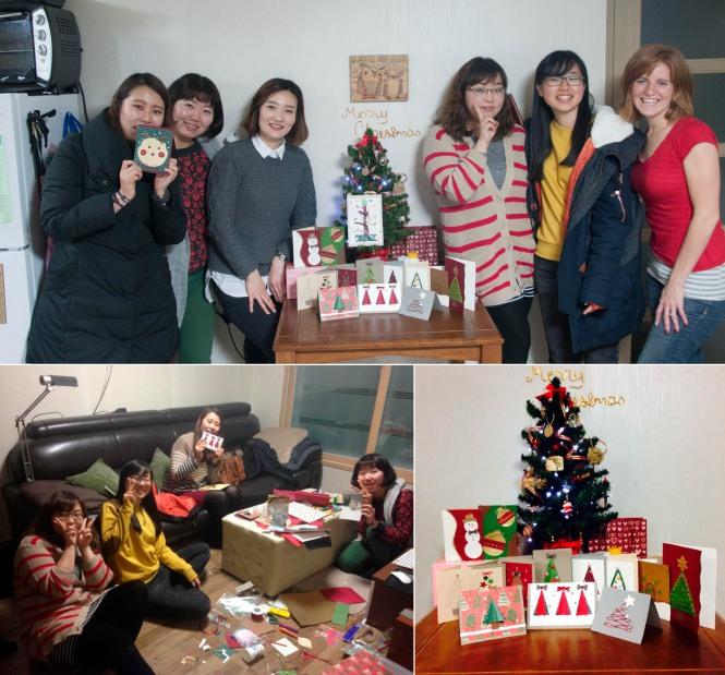 Christmas Cards in Korea