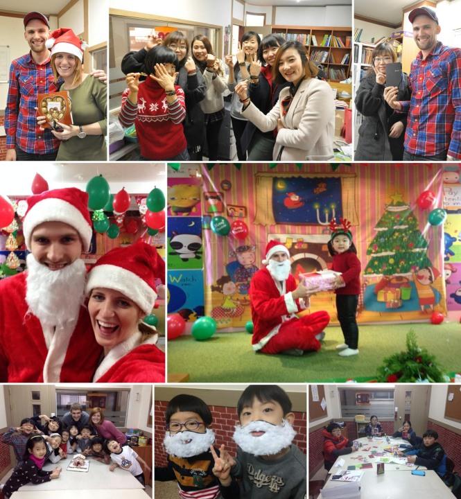 Christmas Fun in Korea