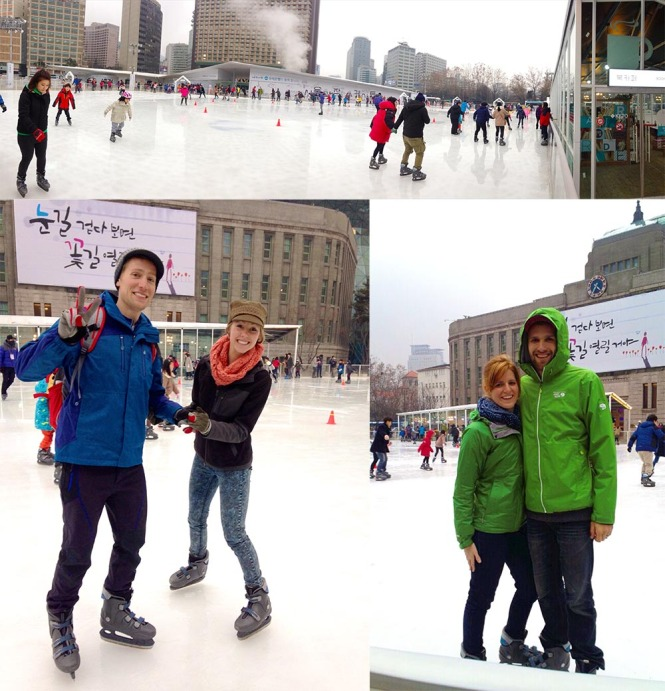 Seoul Square Outdoore Ice Skating Rink