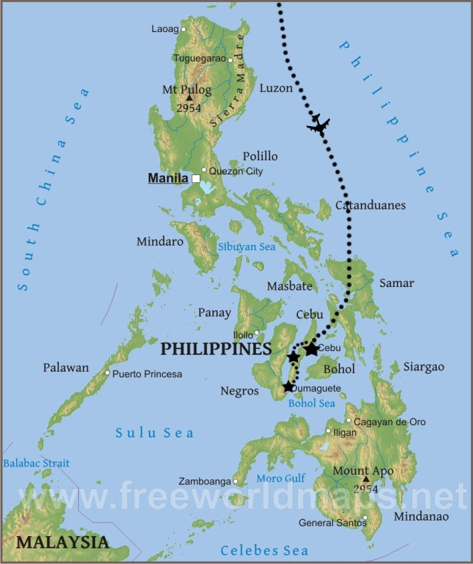 Jacob's Philippines Map