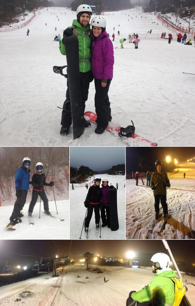 Muju Snowboarding