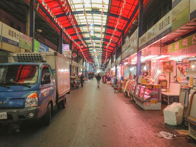 Majang Meat Market in Seoul, Korea's Largest Meat Market