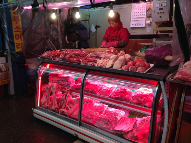 Majang Meat Market in Seoul, Korea's Largest Meat Market