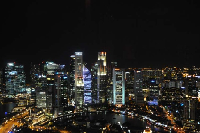 Skyline View of Singapore