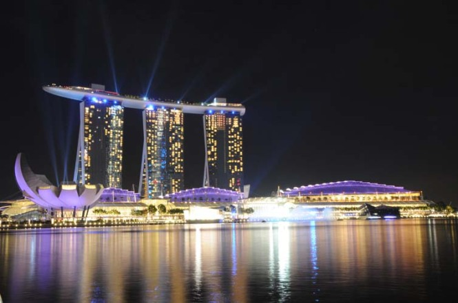 The Beautiful City of Singapore, Skyline View