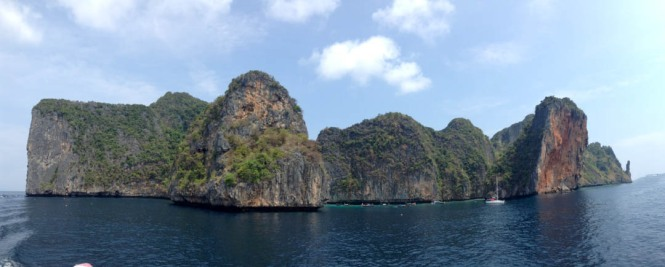 Koh Phi Phi Ferry RIde View