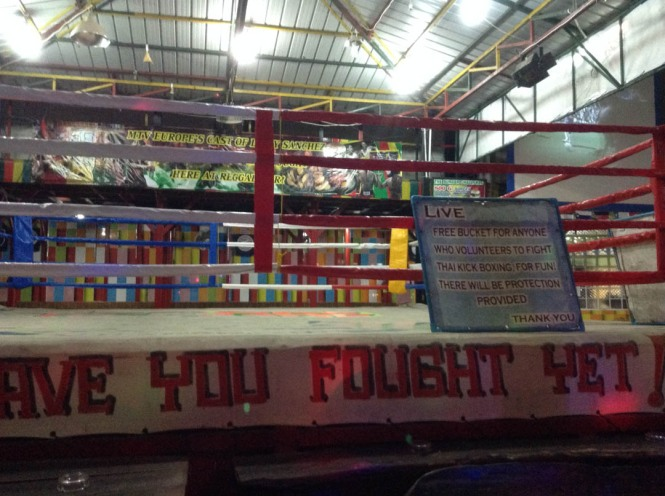 Koh Phi Phi Kick Boxing Fights