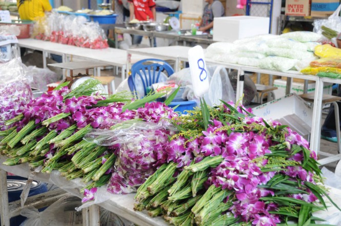 Bangkok Thailand Flower Market