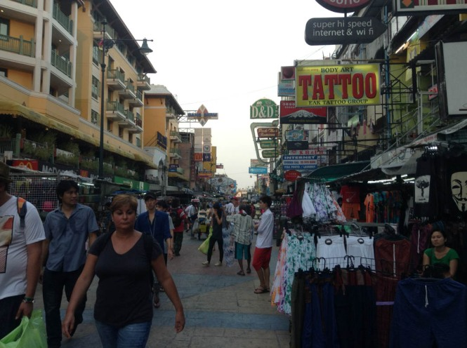 Khaosan Road Thailand