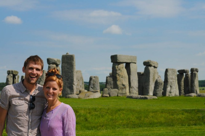 The English Travelers at Stonehenge