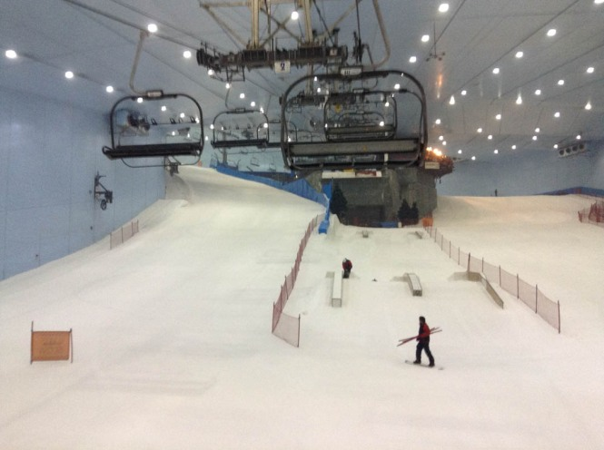 Emrites Mall Indoor Snowboarding