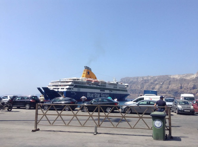Greek Island Ferry