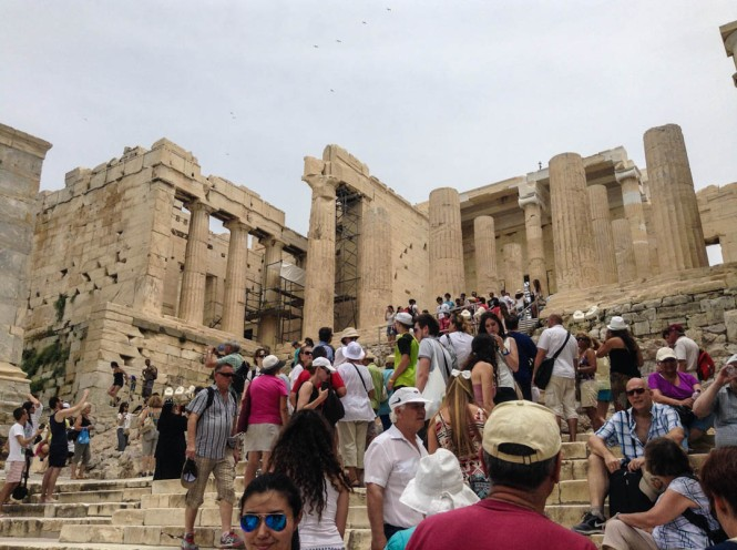 Exploring the Acropolis